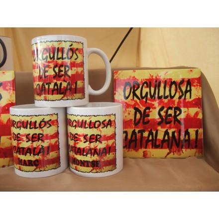 Rajola orgullosa de ser catalana.