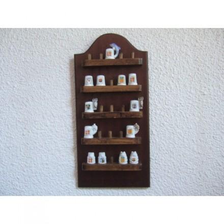 Expositor fusta per didals
