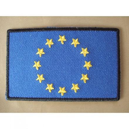 Brodat. Bandera Europa