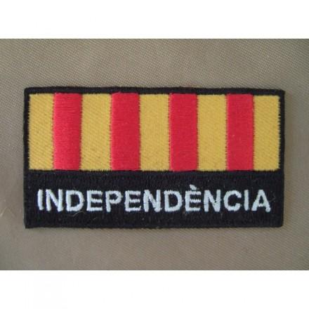 Brodat. Senyera Independència
