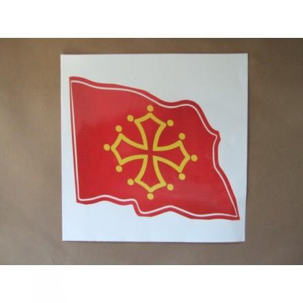 Adhesiu. Bandera Occitània
