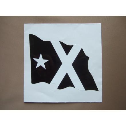 Adhesiu. Bandera Negra