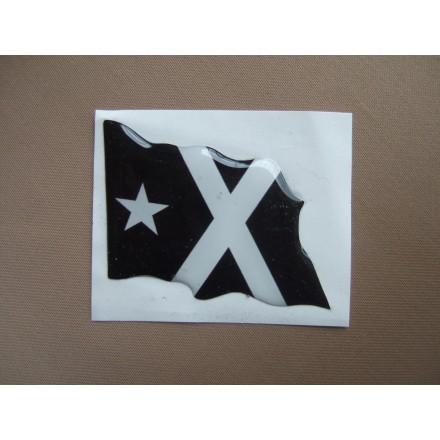 Adhesiu. Bandera Negra amb Relleu