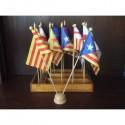 Conjunt banderes variades
